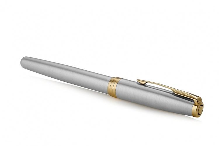 Ручка роллер Parker Sonnet , Stainless Steel GT