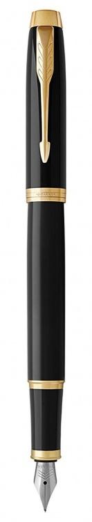 Перьевая ручка Parker IM Metal Black GT