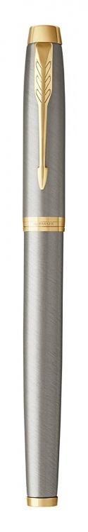Перьевая ручка Parker IM Metal Brushed Metal GT