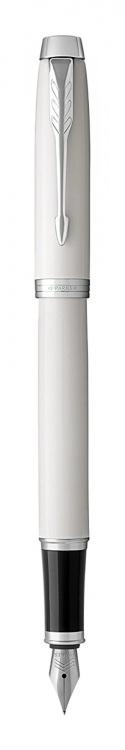 Перьевая ручка Parker IM Metal White CT