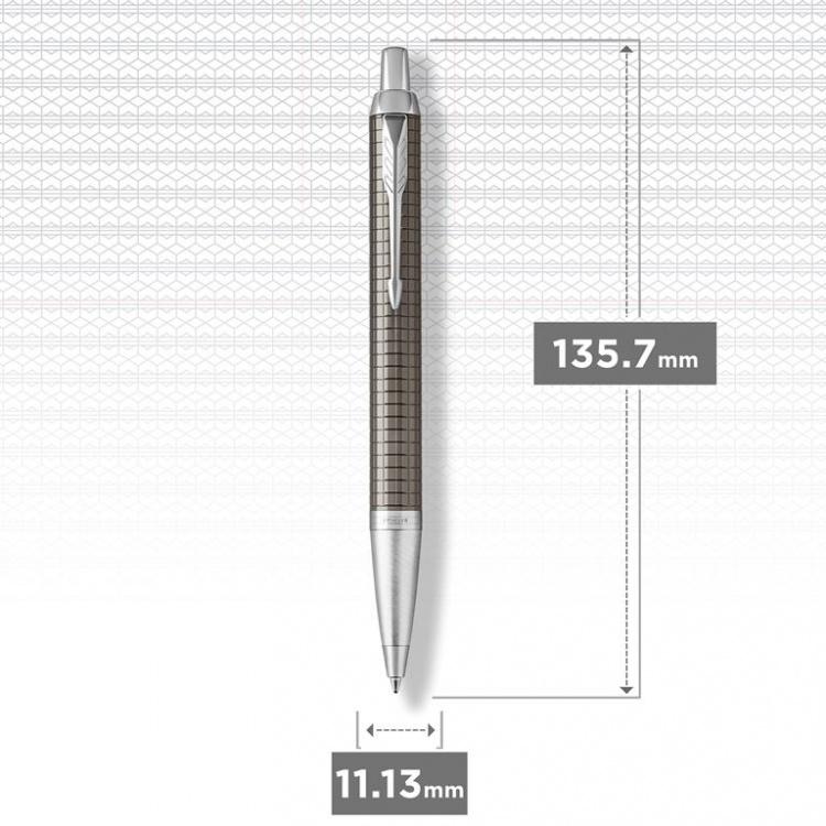 Шариковая ручка Parker IM Premium Royal Dark Espresso CT