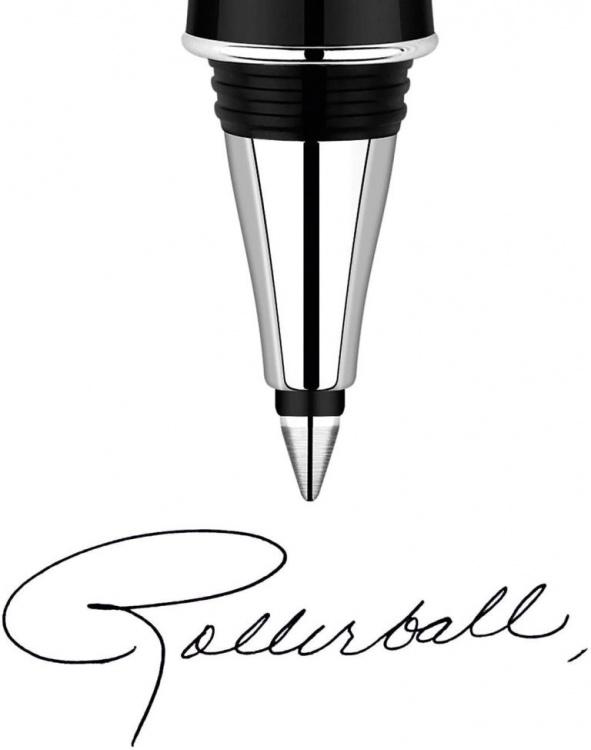 Стержни для ручки-роллера 2шт. Цвет чёрный, толщина линии М, в блистере. Франция