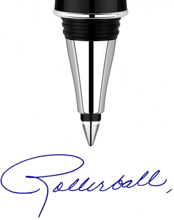 Стержни для ручки-роллера 2шт. Цвет синий , толщина линии М, в блистере. Франция