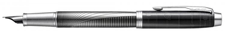 "Ручка перьевая ""Parker (Паркер) IM Premium SE Mettalic Pursuit""."
