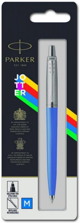 Шариковая ручка Parker Jotter ORIGINALS BLUE CT, стержень: Mblue В БЛИСТЕРЕ