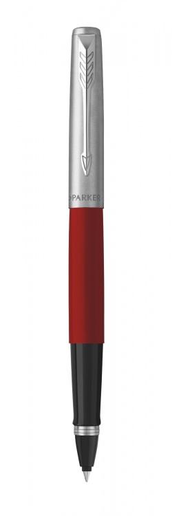 Ручка-роллер Parker Jotter Original T60 Red СT (чернила черные) в подарочной коробке