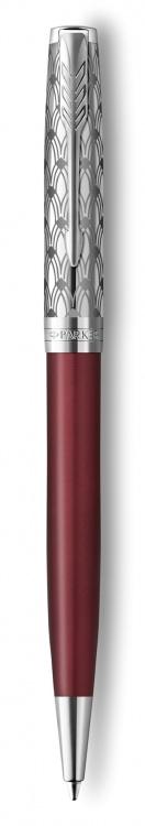 Шариковая ручка Parker Sonnet Premium Refresh RED, цвет чернил Мblack, в подарочной упаковке