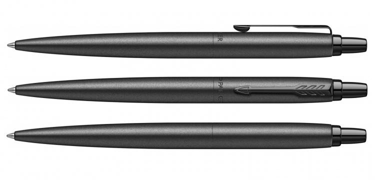 Jotter XL SE20 Monochrome в подарочной упаковке, цвет: Black, стержень: Mblue
