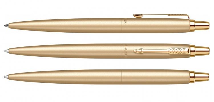 Jotter XL SE20 Monochrome в подарочной упаковке, цвет: Gold, стержень Mblue