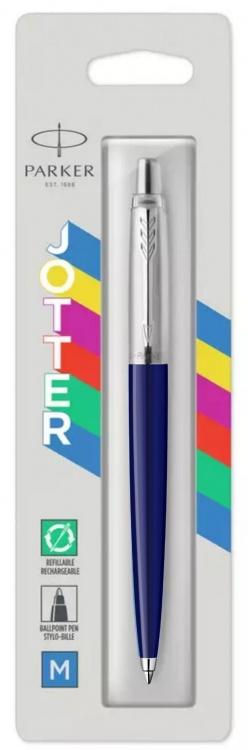 Шариковая ручка Parker Jotter ORIGINALS NAVY BLUE CT (2747C), стержень: Mblue В БЛИСТЕРЕ