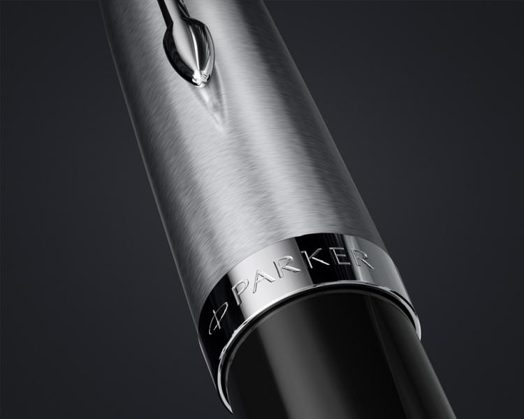 Перьевая ручка Parker 51 CORE BLACK CT, перо F