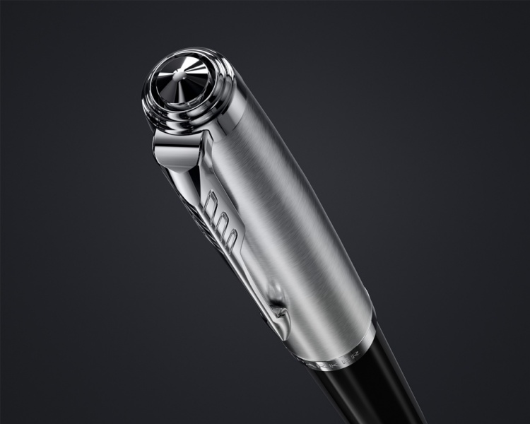 Шариковая ручка Parker 51 CORE BLACK CT, цвет чернил черный