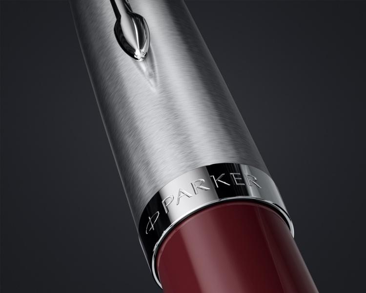 Шариковая ручка Parker 51 CORE BURGUNDY CT, цвет чернил черный