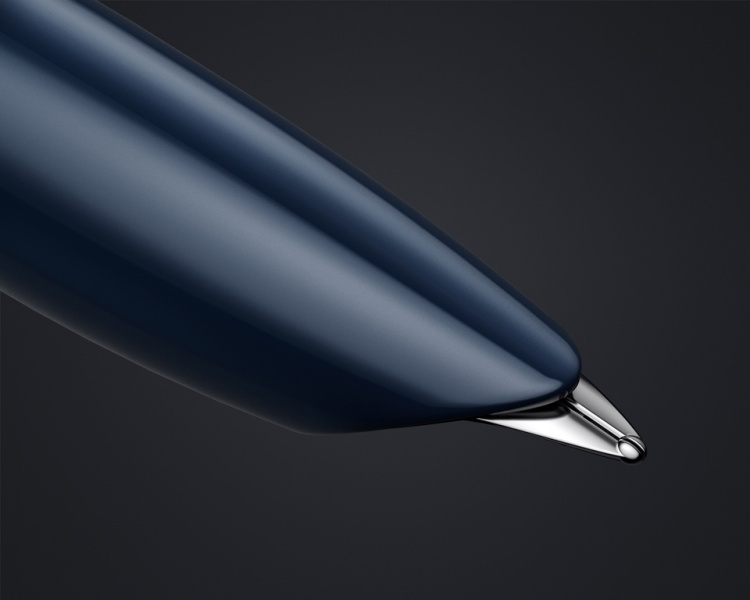 Перьевая ручка Parker 51 CORE MIDNIGHT BLUE CT, перо F