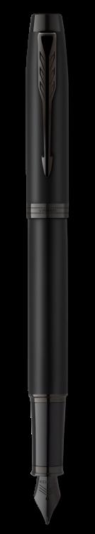 Перьевая ручка Parker IM MBLK BT  F в подарочной упаковке
