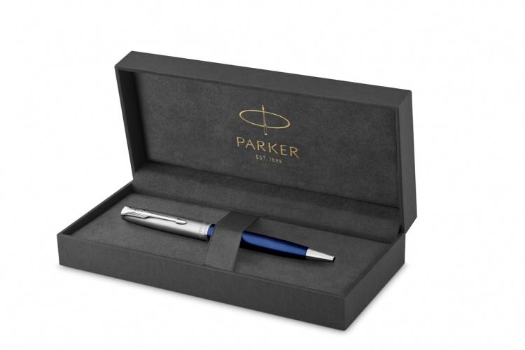 Шариковая ручка Parker Sonnet Entry Point Blue Steel в подарочной упаковке