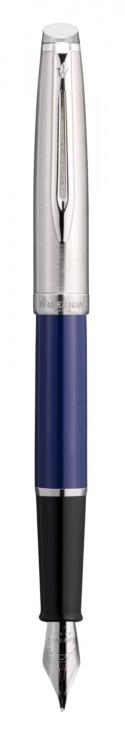 Перьевая ручка Waterman  Embleme цвет BLUE CT, цвет чернил: черный