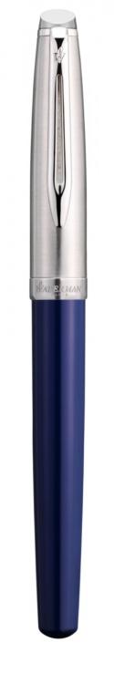 Ручка роллер Waterman  Embleme цвет BLUE CT, цвет чернил: черный