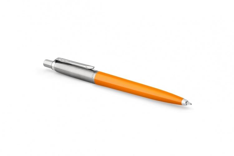 Шариковая ручка Parker Jotter, цвет MARIGOLD, цвет чернил синий, толщина линии M , в подарочной коробке