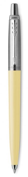 Шариковая ручка Parker Jotter, цвет EGGSHELL, цвет чернил синий, толщина линии M , в подарочной коробке