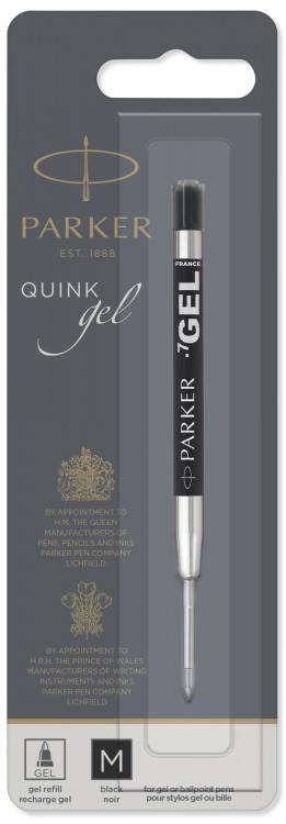 Cтержень гелевый Parker Gel Pen Refill M, размер: средний, цвет: черный