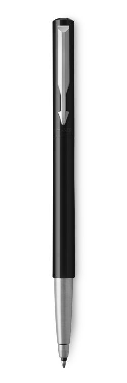 Ручка-роллер Parker Vector Standard T01, цвет: Black, стержень: Mblue
