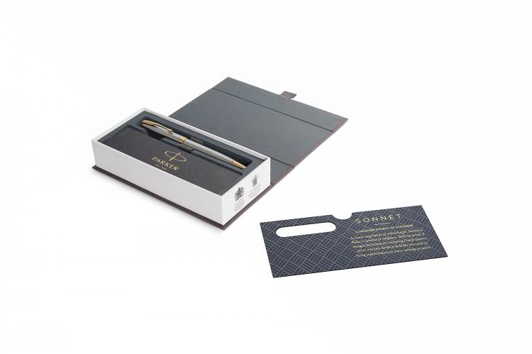 Шариковая ручка Parker Sonnet , Stainless Steel GT