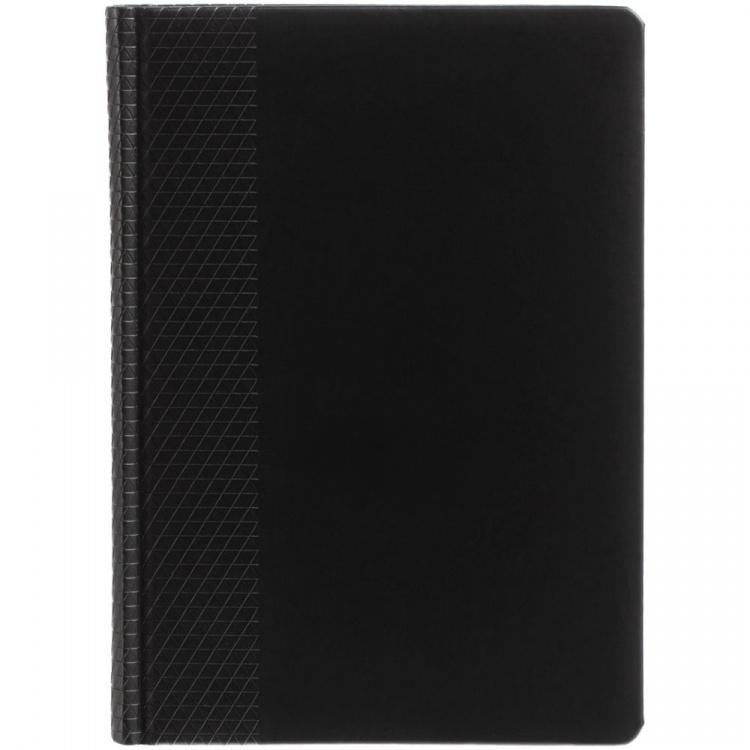 Подарочный набор: Перьевая ручка Parker IM Metal, F221, цвет: Black GT, перо: M и Ежедневник недатированный черный