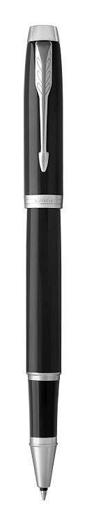 Подарочный набор: Ручка роллер Parker IM Metal Black CT и Ежедневник недатированный черный