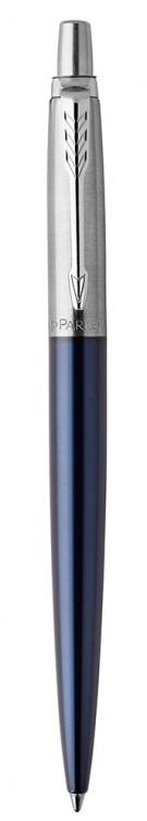 Подарочный набор: Шариковая ручка Parker Jotter Essential, Royal Blue CT и Ежедневник недатированный черный