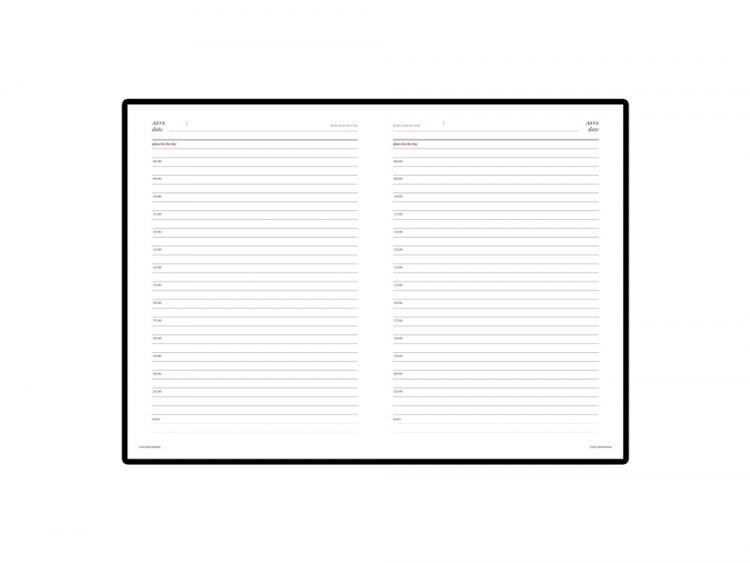 Подарочный набор: Jotter XL SE20 Monochrome в подарочной упаковке, цвет: Pink Gold, стержень Mblue и Ежедневник зеленый недатированный