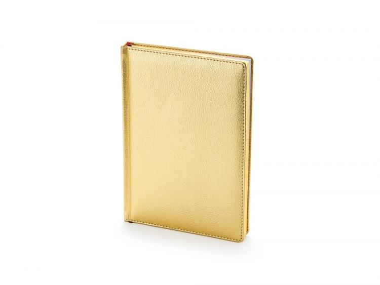 Подарочный набор: Jotter XL SE20 Monochrome в подарочной упаковке, цвет: Pink Gold, стержень Mblue и Ежедневник золотистый недатированный