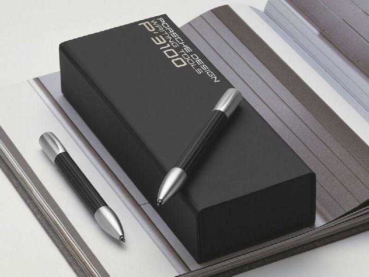 Ручка шариковая Pelikan Porsche Design Shake Pen P`3140  caoutchouc подар.кор.