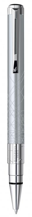 Подарочный набор Шариковая ручка Waterman Perspective, цвет: Silver CT, стержень Mbue с чехлом Waterman