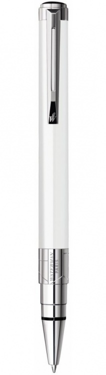 Подарочный набор Шариковая ручка Waterman Perspective, цвет: White CT, стержень: Mblue с чехлом Waterman
