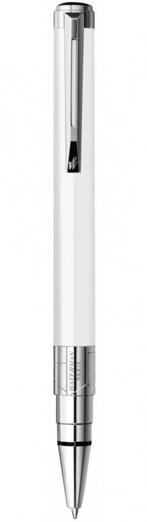 Подарочный набор Шариковая ручка Waterman Perspective, цвет: White CT, стержень: Mblue с чехлом