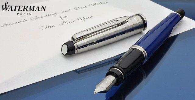 Ручка перьевая Expert Deluxe, цвет: Blue CT Obssesion