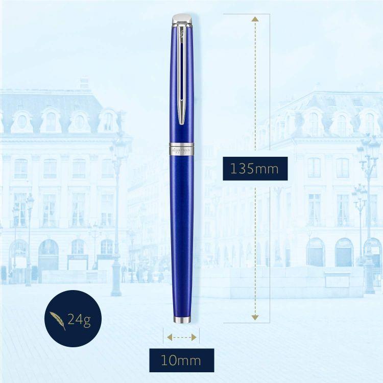 Перьевая ручка Waterman Hemisphere Bright Blue CT