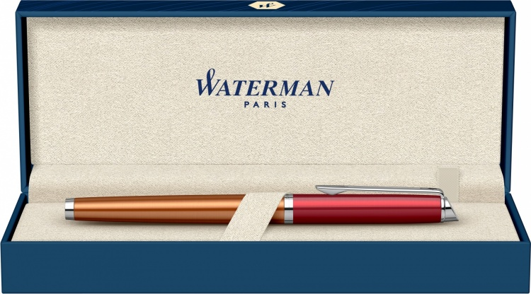 Ручка перьевая Waterman Hemisphere French riviera VERMILLON в подарочной коробке
