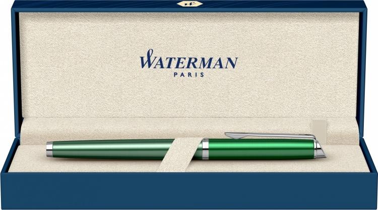Ручка перьевая Waterman Hemisphere French riviera CHATEAU VERT в подарочной коробке