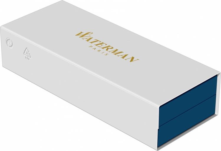 Перьевая ручка WatermanExpert GoldF BLK в подарочной упаковке