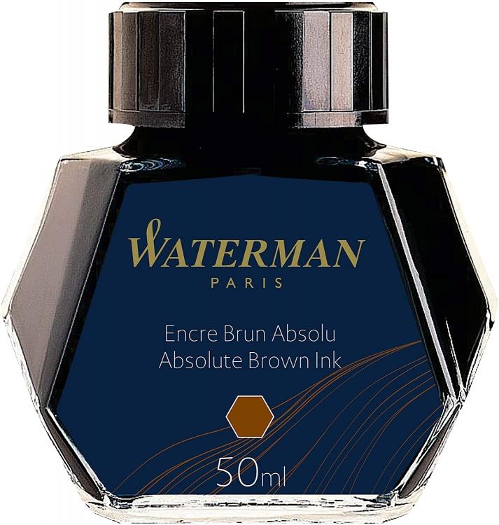 Флакон с чернилами для перьевой ручки, цвет:  Absolute Brown