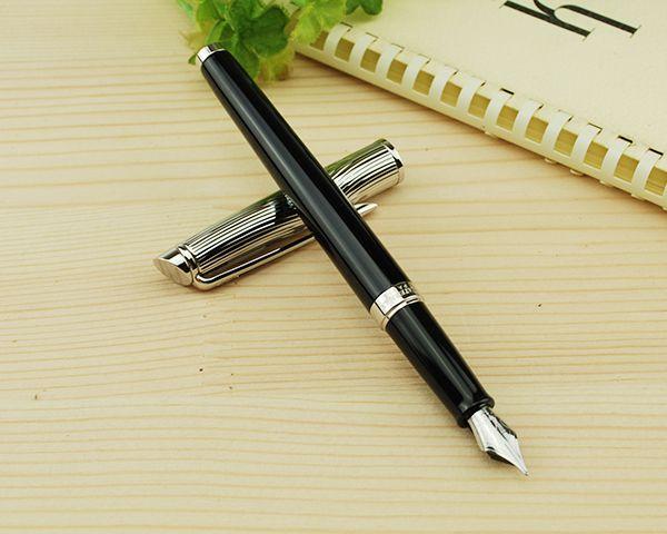 *Перьевая ручка Waterman Hemisphere Deluxe, цвет: Black CT, перо: F