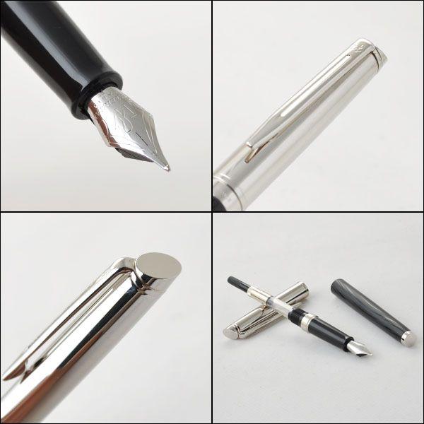 Перьевая ручка Waterman Hemisphere Deluxe, цвет: White CT, перо: F