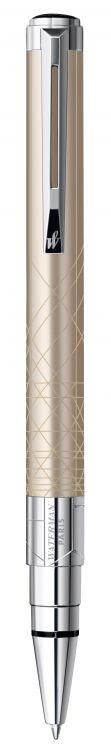 Шариковая ручка Waterman Perspective, цвет: Champagne CT, стержень Mblue