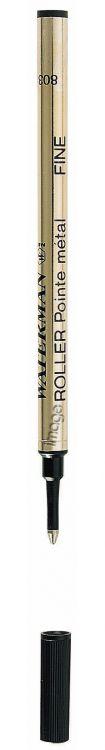 Стержень для ручки-роллера Waterman F, цвет: черный