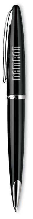 Шариковая ручка Waterman Carene, цвет: Black ST, стержень: Mblu