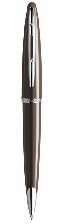 Шариковая ручка Waterman Carene, цвет: Frosty Brown Lacquer ST, стержень: Mblue