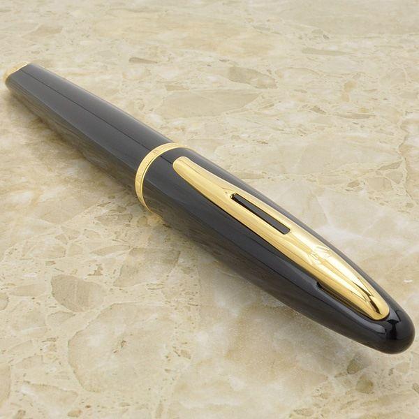 Перьевая ручка Waterman Carene, цвет: Black GT, перо: F