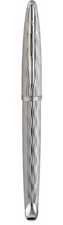Перьевая ручка Waterman Carene Essential, цвет: Silver ST, перо: F
